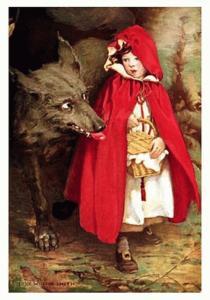 J. Wilcox Smith: Cappuccetto Rosso