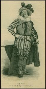 Cyrano de Bergerac impersonato da Benoît-Constant Coquelin