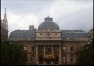 Il palazzo di giustizia di Parigi