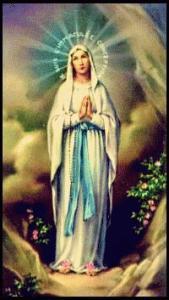 Dipinto della Madonna di Lourdes