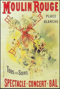 Affiche del Moulin Rouge