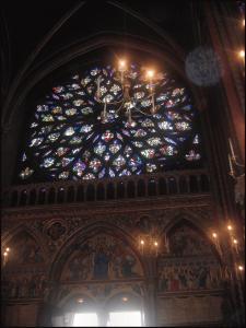 Il rosone della Sainte-Chapelle