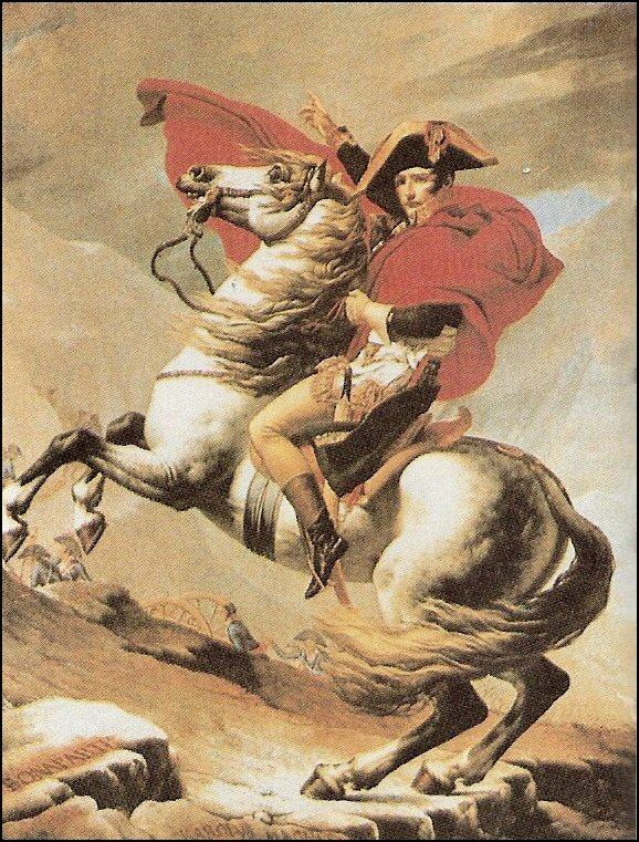 J.-L. David: Napoleone attraversa le Alpi