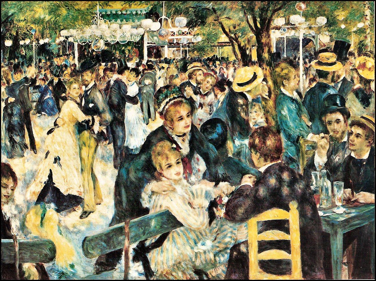 Renoir: Il ballo del Moulin de la Galette